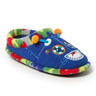 Dearfoams Robot Boys' Slippers