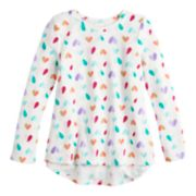 Girls 4-12 Jumping Beans® Graphic Thermal Top
