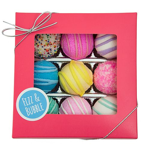 Fizz & Bubble 9 Pack Assorted Fizzy Bath Truffles