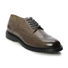Brown Bilt Spike Men's Wingtip Dress Shoes