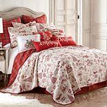 Levtex Home Yuletide Quilt Set