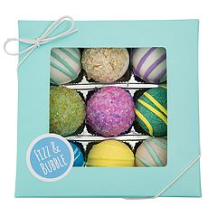 Fizz & Bubble 9 Pack Spa Bath Truffles