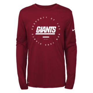 Boys 8-20 Nike New York Giants Property Tee