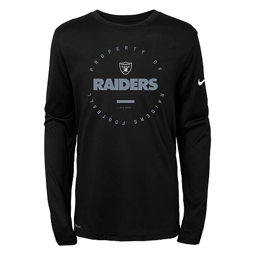 Boys 8-20 Nike Oakland Raiders Property Tee b90516917