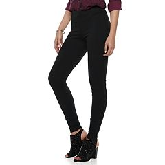 Women's Rock & Republic® Lace-Up Ponte Leggings
