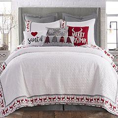 Levtex Home Reindeer Quilt Set