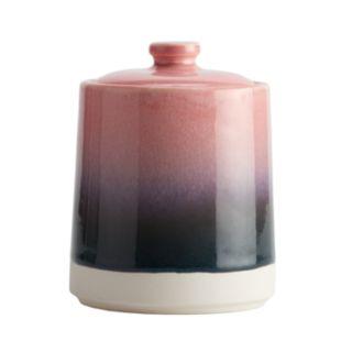 LC Lauren Conrad Reactive Glaze Jar