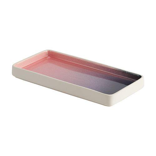 LC Lauren Conrad Reactive Glaze Tray