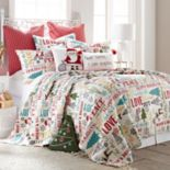 Levtex Home Santa Claus Lane Quilt Set