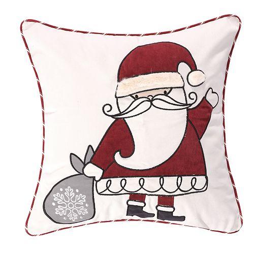 Levtex Home Santa Claus Lane Santa Throw Pillow