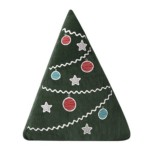 Levtex Home Santa Claus Lane Christmas Tree Shaped Throw Pillow