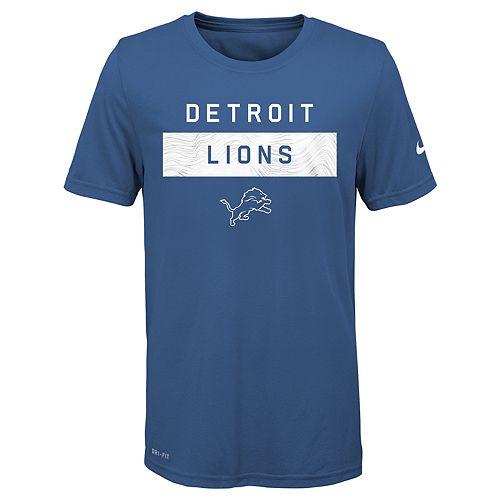 Boys 8-20 Nike Detroit Lions Legend Lift Tee
