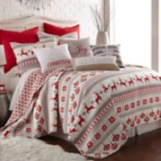 Levtex Home Sleigh Bells Twin Quilt Set