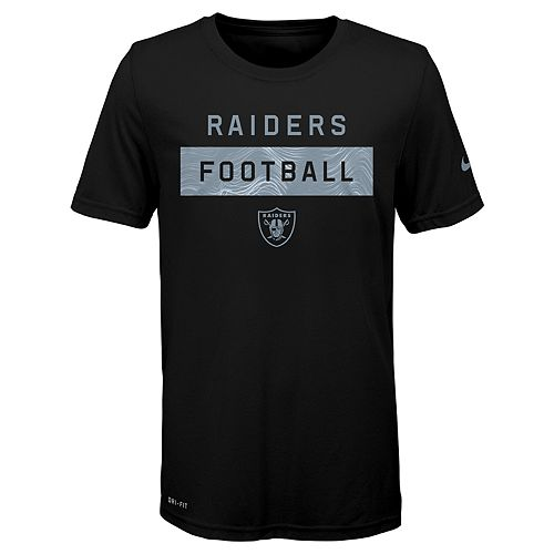Boys 8-20 Nike Oakland Raiders Legend Lift Tee