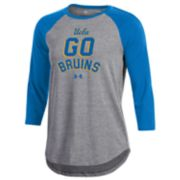Women's Under Armour UCLA Bruins Charged Baseball Tee