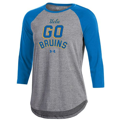 meet 4ce50 4f0f1 Women's Under Armour UCLA Bruins Charged Baseball Tee