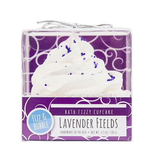Fizz & Bubble Lavender Fields Bath Fizzy Cupcake
