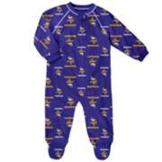 Baby Minnesota Vikings Raglan Coverall