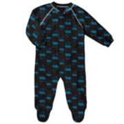 Baby Carolina Panthers Raglan Coverall