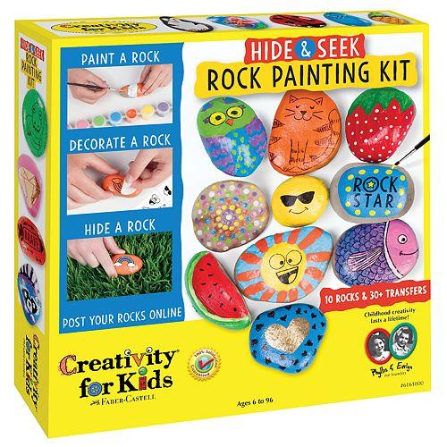 Creativity for Kids Hide and Seek Rock Painting Kit
