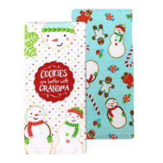 St. Nicholas Square® Grandma's Cookies Kitchen Towel 2-pack