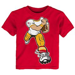 Toddler Kansas City Chiefs Yard Rush Tee