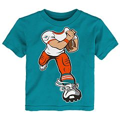 Toddler Miami Dolphins Yard Rush Tee