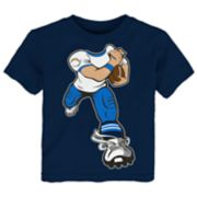 Toddler Los Angeles Chargers Yard Rush Tee