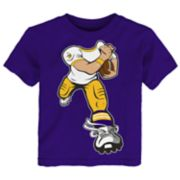 Toddler Minnesota Vikings Yard Rush Tee