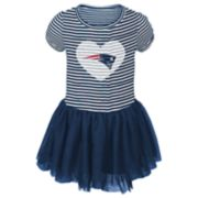 Baby Girl New England Patriots Sequin Tutu Dress