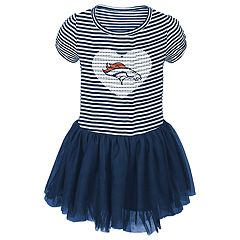 Toddler Girl Denver Broncos Sequin Tutu Dress