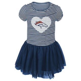 Toddler Girl Denver Broncos Sequin Tutu Dress
