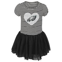 Baby Girl Philadelphia Eagles Sequin Tutu Dress