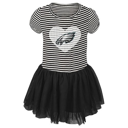 pretty nice 4a8f3 5df24 Toddler Girl Philadelphia Eagles Sequin Tutu Dress