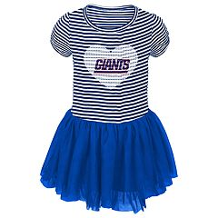 Baby Girl New York Giants Sequin Tutu Dress