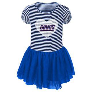 Toddler Girl New York Giants Sequin Tutu Dress