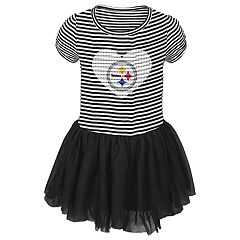 Toddler Girl Pittsburgh Steelers Sequin Tutu Dress