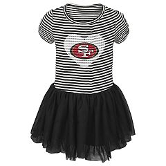 Toddler Girl San Francisco 49ers Sequin Tutu Dress