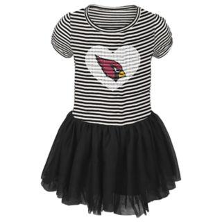 Toddler Girl Arizona Cardinals Sequin Tutu Dress