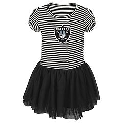 Toddler Girl Oakland Raiders Sequin Tutu Dress