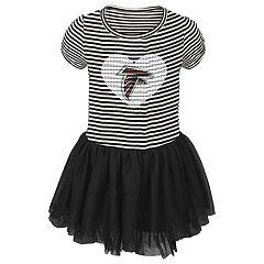 Baby Girl Atlanta Falcons Sequin Tutu Dress