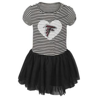 Toddler Girl Atlanta Falcons Sequin Tutu Dress