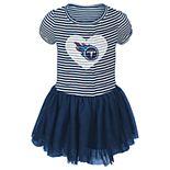 Toddler Girl Tennessee Titans Sequin Tutu Dress