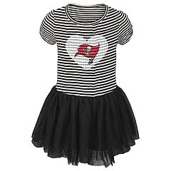Toddler Girl Tampa Bay Buccaneers Sequin Tutu Dress