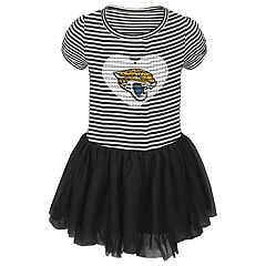 Toddler Girl Jacksonville Jaguars Sequin Tutu Dress