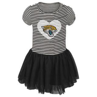 Toddler Girl Jacksonville Jaguars Sequin Tutu Dress