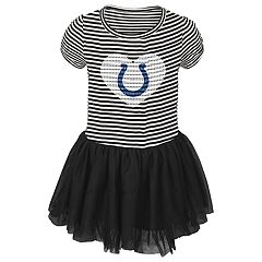 Toddler Girl Indianapolis Colts Sequin Tutu Dress