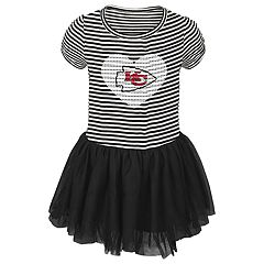 Toddler Girl Kansas City Chiefs Sequin Tutu Dress