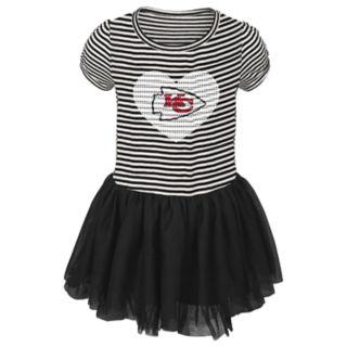 Toddler Girl Kansas City Chiefs Sequin Tutu Dress