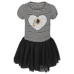 Toddler Girl Washington Redskins Sequin Tutu Dress